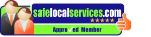 Approved and recommended by Safe Local Services logo