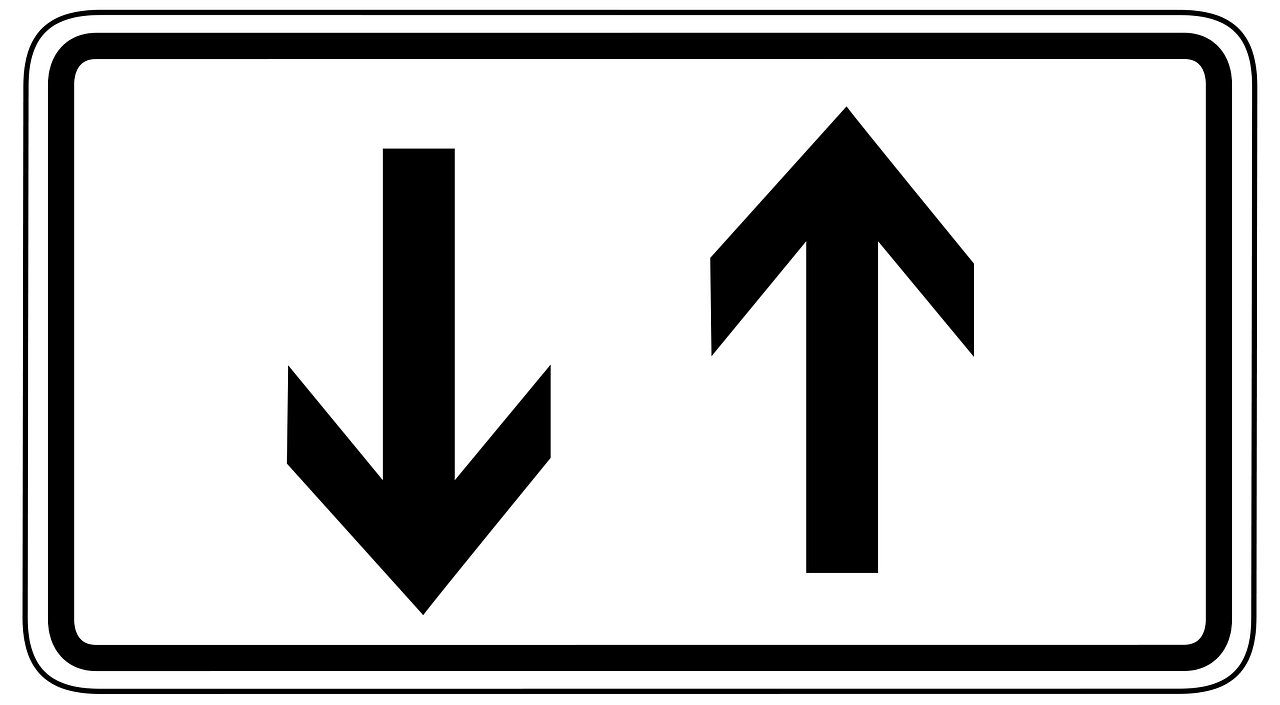 Do you start with a top down or bottom up approach image of two arrows