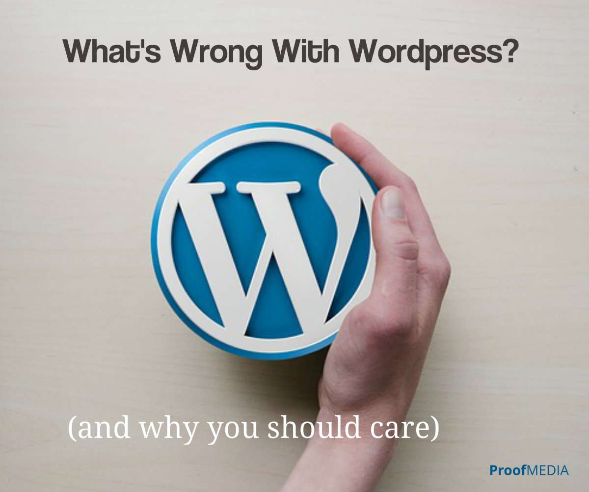 What's Wrong With Wordpress?